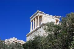 Temple of Athena Nike Stock Image
