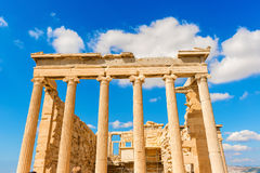 Temple of Athena Nike in Greece Royalty Free Stock Photo