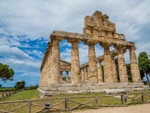 Temple of Athena, Paestum Royalty Free Stock Image