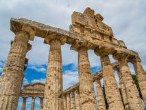 Temple of Athena, Paestum Royalty Free Stock Images