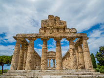 Temple of Athena, Paestum Stock Image