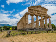 Temple of Athena, Paestum Stock Images