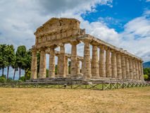 Temple of Athena, Paestum Royalty Free Stock Photos