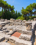 Temple of Athena Polias Royalty Free Stock Images