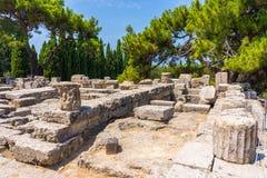 Temple of Athena Polias Stock Photography