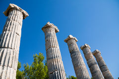 Temple of Athena in Priene Royalty Free Stock Image