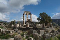 Temple of Athena Pronaia in Delphi Royalty Free Stock Image