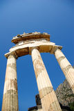 Temple of Athena Pronoia at Delphi Royalty Free Stock Photography