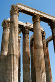 Temple in Athens. Ancient temple in Athens, Greece, Europe Royalty Free Stock Images