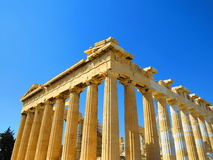 Temple in Athens Stock Photography