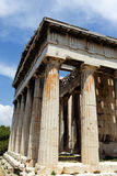 Temple in Athens city Stock Photos