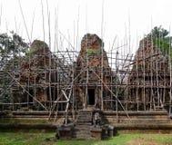 Temple au Cambodge Photos stock