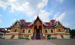 Temple au Laos Photo stock