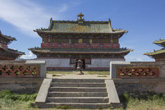 Temple au monastère d'Erdene Zuu photo stock