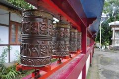 Temple au Népal Images libres de droits