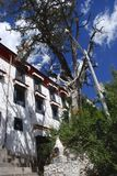 Temple au Thibet Photographie stock libre de droits