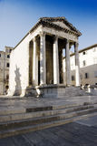 Temple of Augustus. Temple of Rome and Augustus, in Pula, Croatia Stock Image