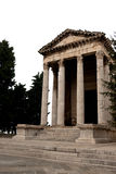 Temple of Augustus in Forum square - Pula Royalty Free Stock Images