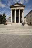 Temple of Augustus (Pula) Stock Images
