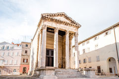 Temple of Augustus in Pula Royalty Free Stock Image