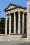 Temple of Augustus - Pula - Croatia Stock Images