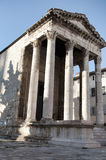 Temple of Augustus (Pula) Royalty Free Stock Image