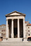 Temple of Augustus Royalty Free Stock Photos