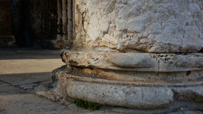 Temple of Augustus in the town square in Pula city in Croatia Royalty Free Stock Photography