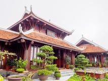 Temple aux collines de Bana Images libres de droits