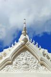 Temple avec le ciel bleu Photo libre de droits