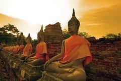 Temple in Ayudhaya, Thailand Stock Photos