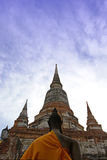 Temple in Ayudhaya, Thailand Royalty Free Stock Images