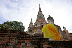 Temple in Ayudhaya, Thailand Stock Photo