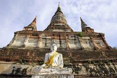 Temple in Ayudhaya, Thailand Royalty Free Stock Photography