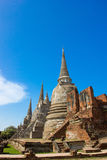 Temple of Ayutthaya Historical, Royalty Free Stock Photography