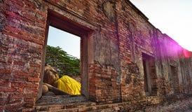 Temple in Ayutthaya Thailand stock photos