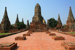 Temple in Ayutthaya, Thailand Stock Photos