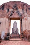 Temple of Ayutthaya, thailand Stock Image