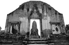 Temple of Ayutthaya , Thailand Royalty Free Stock Photos