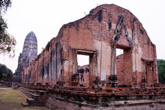 Temple of Ayutthaya, thailand Royalty Free Stock Images