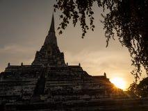 Temple in Ayutthaya, Thailand Stock Photo