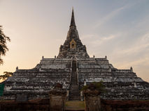 Temple in Ayutthaya, Thailand Stock Images