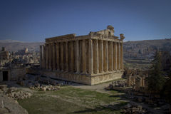 Temple of Bacchus, Baalbek Lebanon Royalty Free Stock Photos