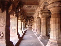 Temple of Badami, Vijayanagar Stock Photos