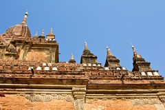 Temple in Bagan,Burma Royalty Free Stock Photo