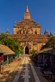 Temple ,  Bagan in Myanmar (Burmar) Royalty Free Stock Photo