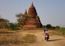Temple of Bagan, Myanmar Royalty Free Stock Photo