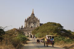 Temple in Bagan, Myanmar Royalty Free Stock Images