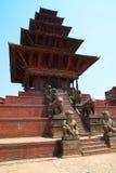 Temple of Baktaphur city, Nepal Stock Image