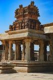 Temple of Bala Krishna in Hampi, Karnataka, India. View of the temple of Bala Krishna in Hampi, Karnataka, India. The prominent historical Site is the Stock Photos